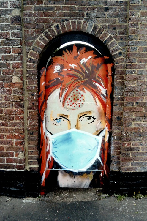 Street Art by Horace, The New Amsterdam Pub, Worthing © 16 Beasley St Photography